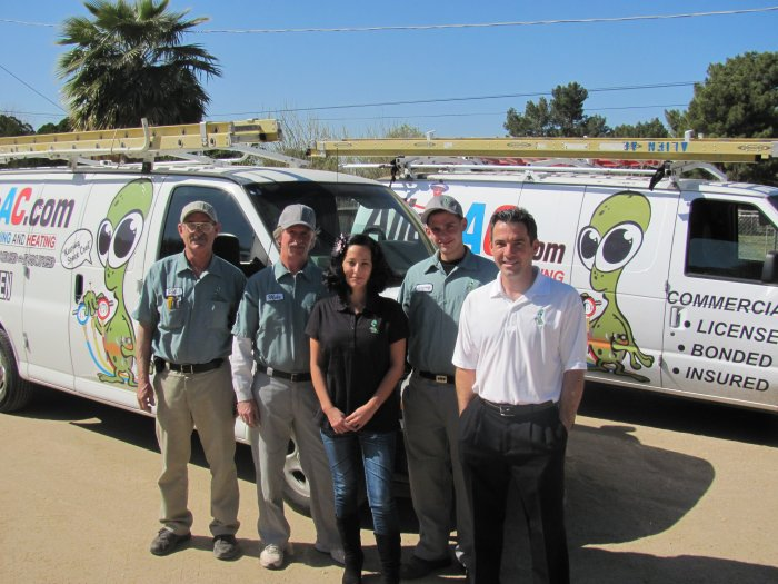 Professional Trane Air Company In Goodyear AZ - Alien Air Conditioning - pic_alien_staff